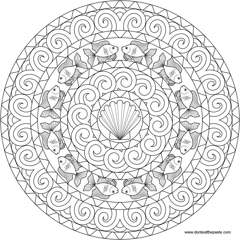 1000+ images about Mandala di animali on Pinterest