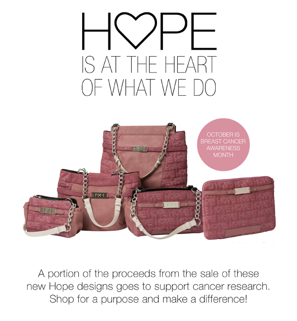 Miche Pink Quilted Hope Collection | Shop MyStylePurses.com