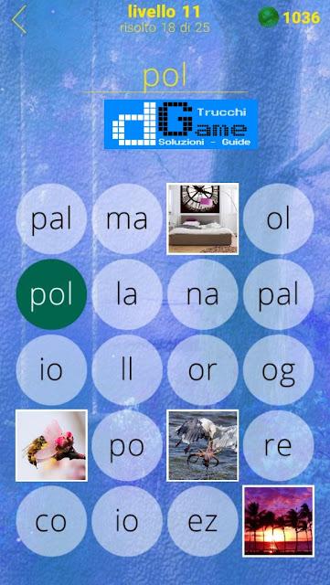 650 Foto soluzione pacchetto 11 livelli (1-25)
