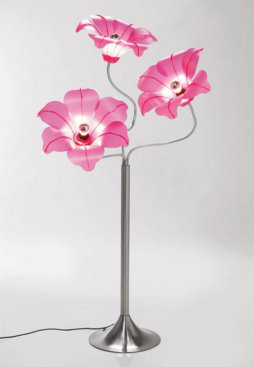 Originales lmparas con forma de flor  Kare Design  BonitaDecoracincom
