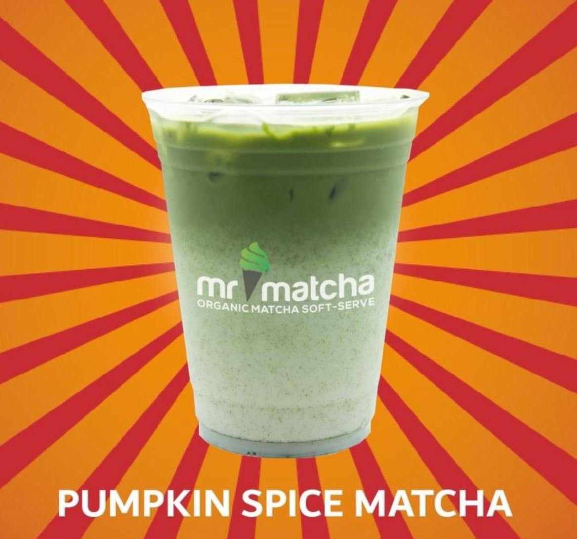 Oct. 2 - 4 | Pumpkin Spice Matcha? BOGO Free @ Mr. Matcha - Garden Grove