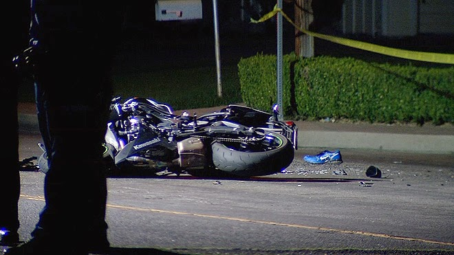 kern county crash bakersfield hit and run motorcycle suv bakersfield akers road