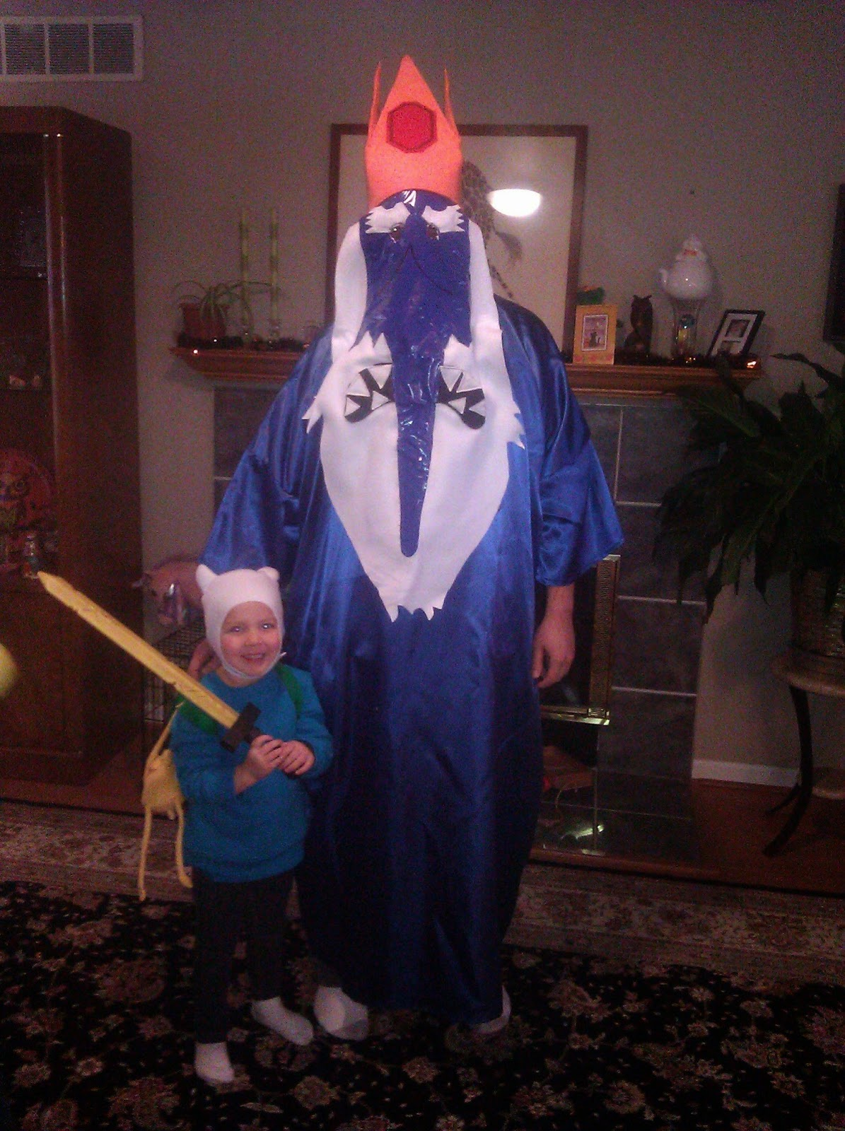 DIY Adventure Time Halloween Costumes