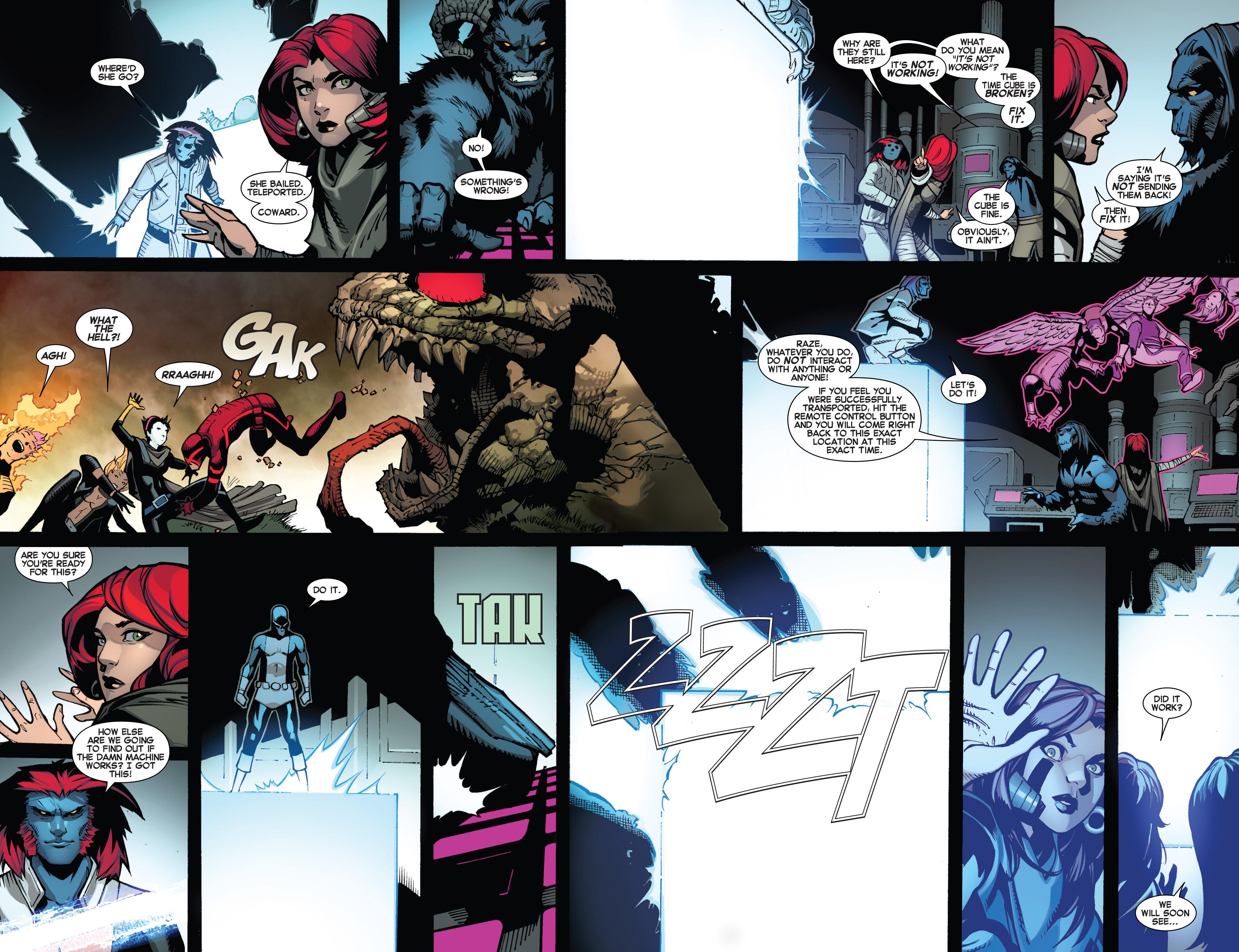 Read online Uncanny X-Men (2013) comic -  Issue #13 - 17