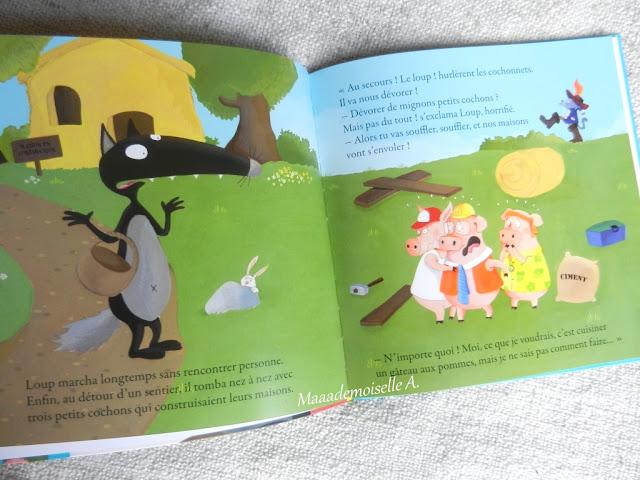 || Le loup qui découvrait le pays des contes (Présentation & Avis)(Chut, les enfants lisent # 53)