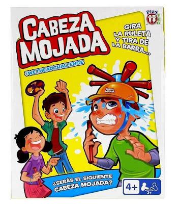 CABEZA MOJADA - Juego de Mesa | IMC Toys 2017 | CAJA JUGUETE