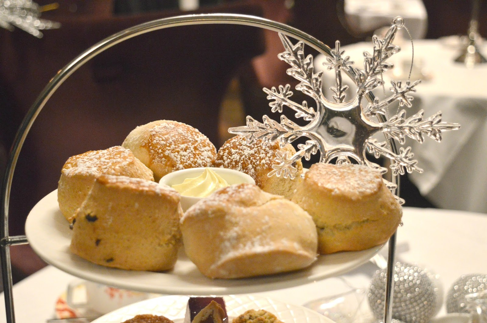 Christmas at Slaley Hall, Northumberland - Festive Afternoon Tea