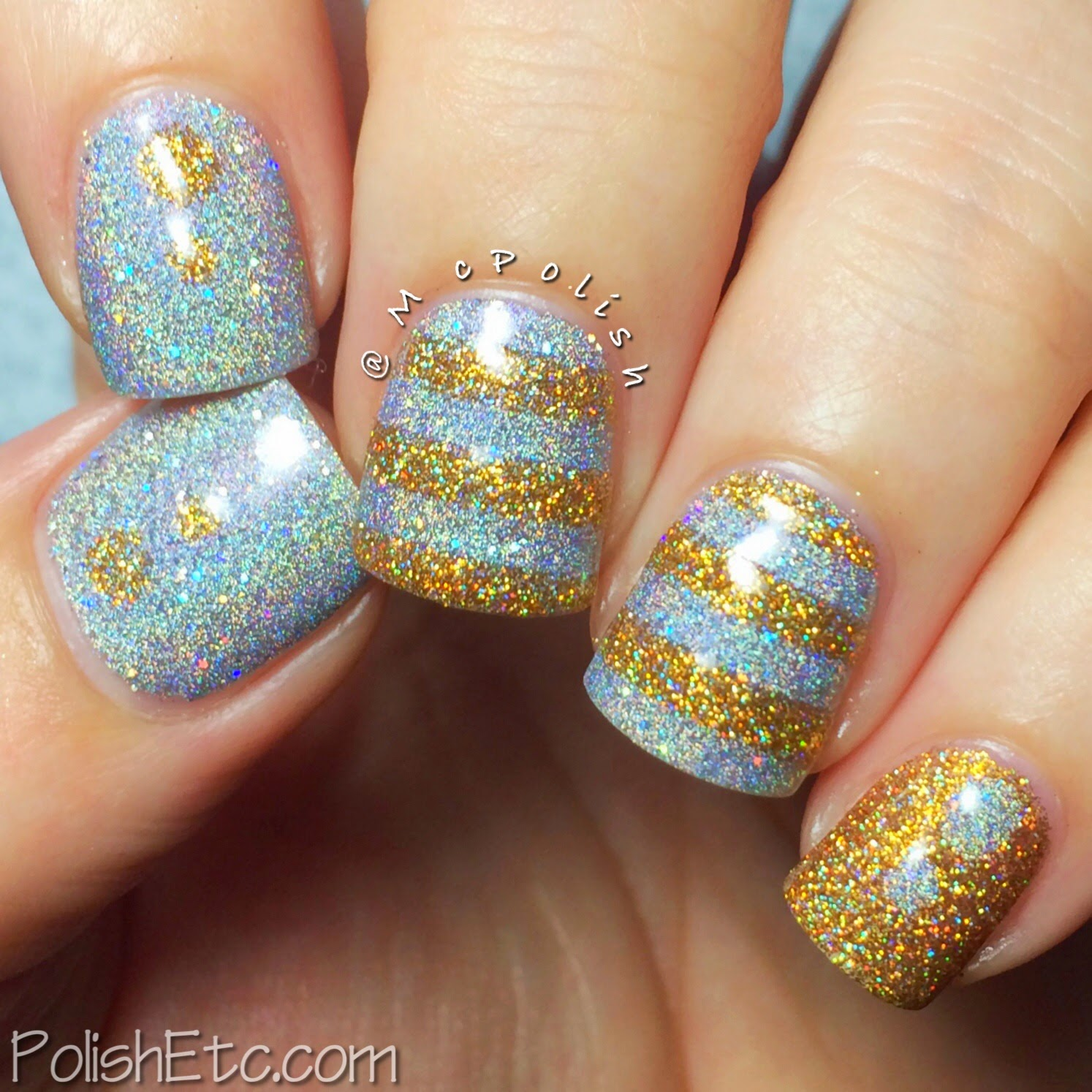 31 Day Nail Art Challenge - #31dc2014 - McPolish - STRIPES
