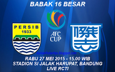 Persib vs Kitchee SC
