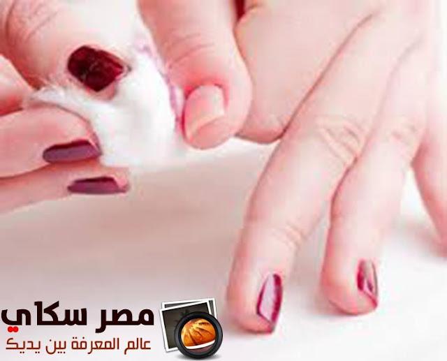 وصفات للتخلص من الجلد الزائد حول الأظافر Recipes to get rid of excess skin