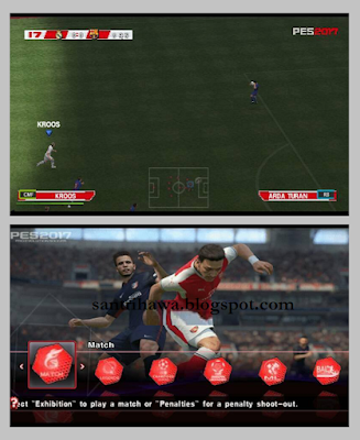 PES Army 2017 PPSSPP PSP ISO + Save Data .1