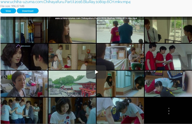 Screenshots Chihayafuru Part II (2016) BluRay 1080p 720p 480p 360p MKV MP4 Free Full Movie Subtitle English - Indonesia