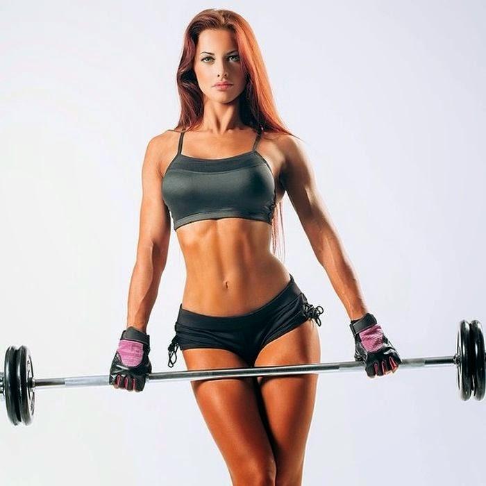 Lyolya Blokhina - female fitness