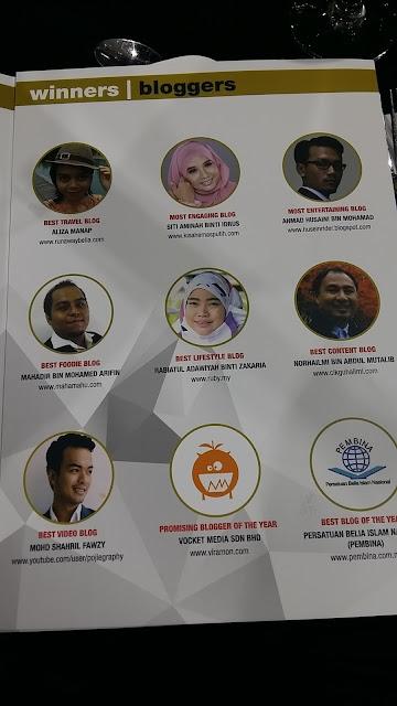 Senarai pemenang untuk Malaysia Social Media Award 2016