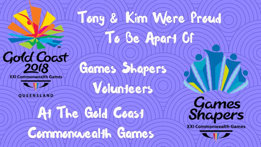 Volunteering Lead Up Journey  Commonwealth Games, Gold Coast Australia
