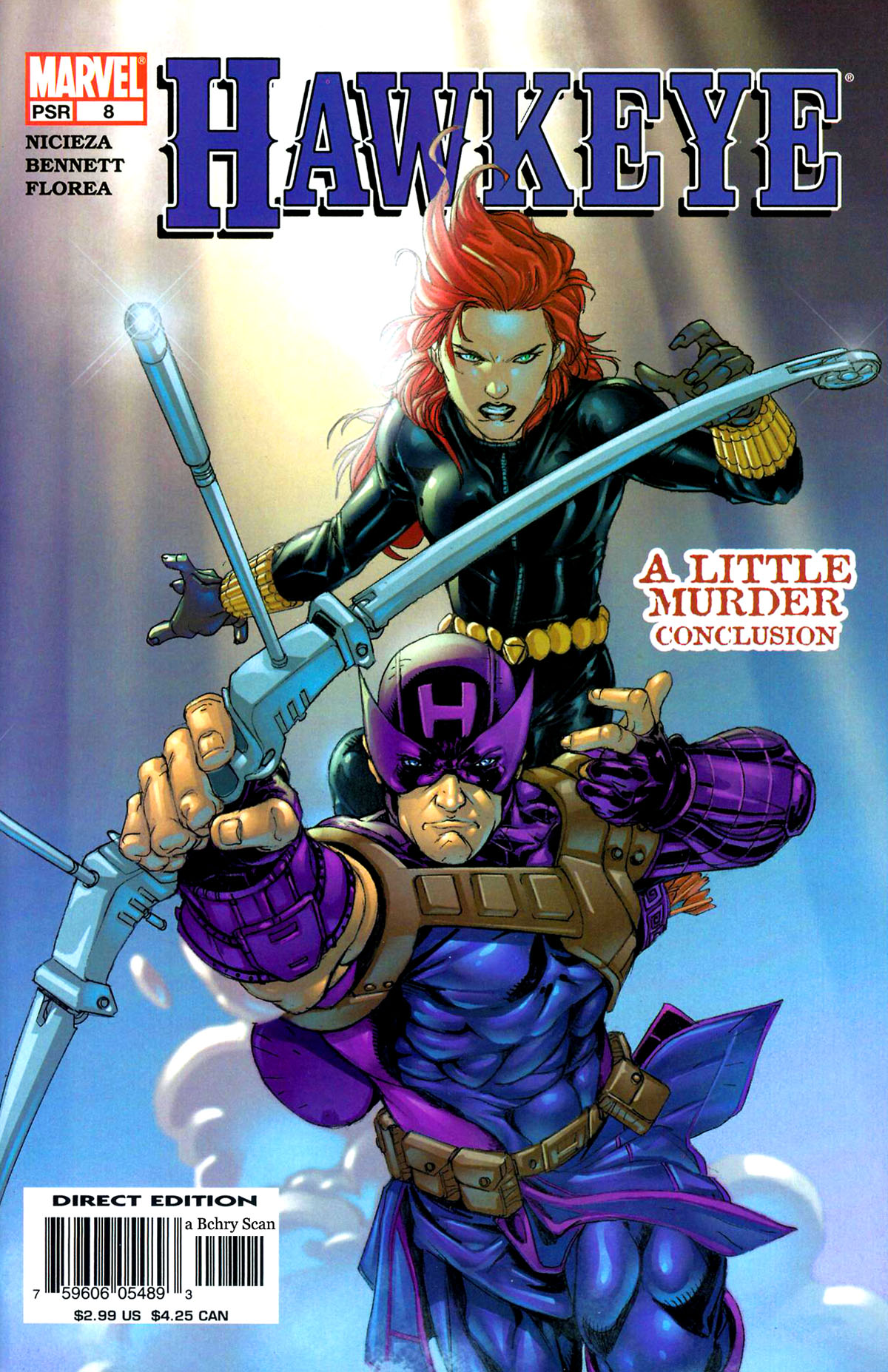 Hawkeye (2003) Issue #8 #8 - English 1