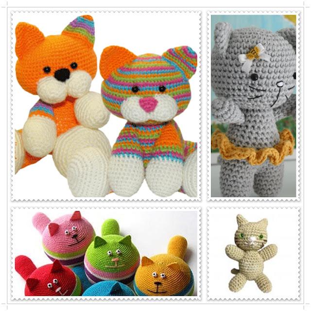 Amigurumi To Sell : Amigurumi: Receitas de Lindos Gatos Amigurumis Sophy Croch?
