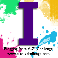 I is for Indigo #AtoZChallenge