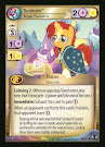 My Little Pony Sunburst, Royal Foalsitter Defenders of Equestria CCG Card