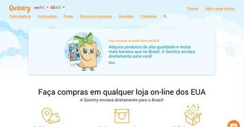 Como comprar em lojas dos EUA e receber no Brasil com a plataforma Qwintry