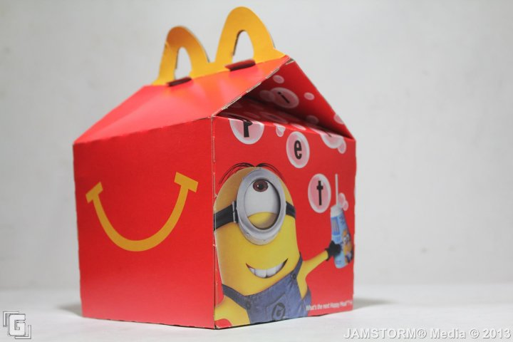 Geekmatic Happy Meal Spotlight Dm2 Us Minions