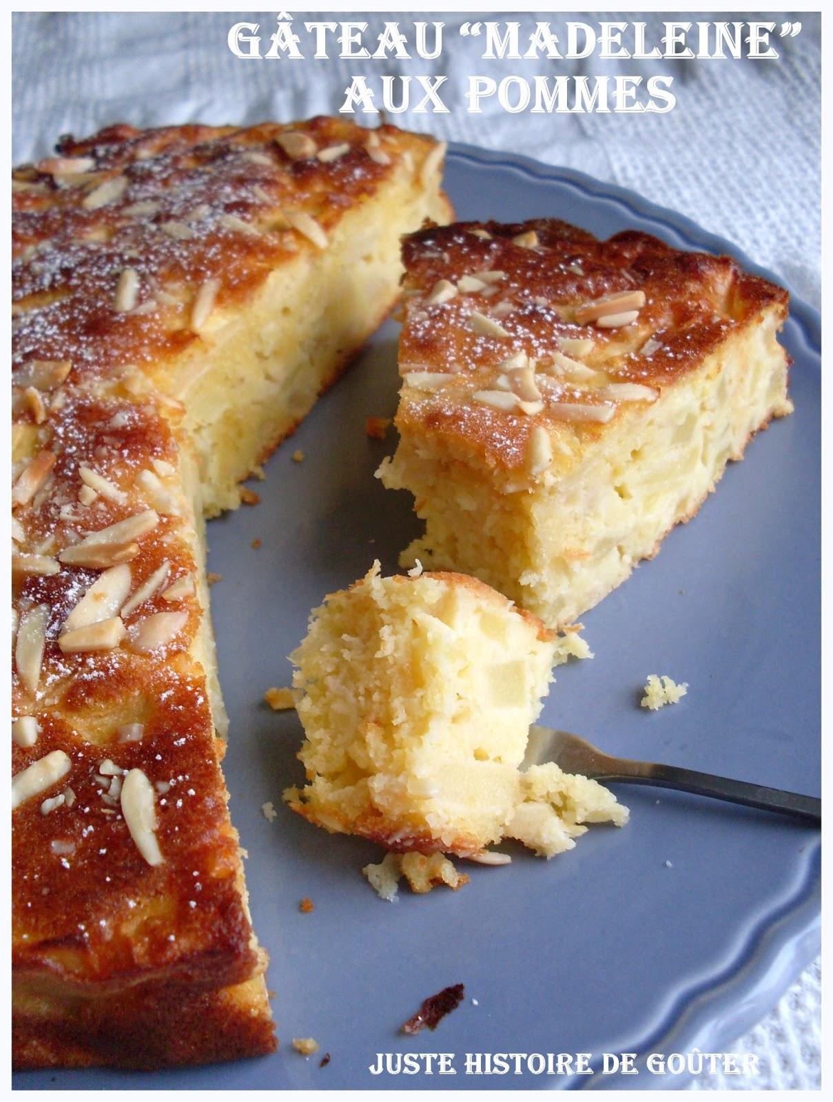 Cake Aux Amandes Et Fromage Blanc