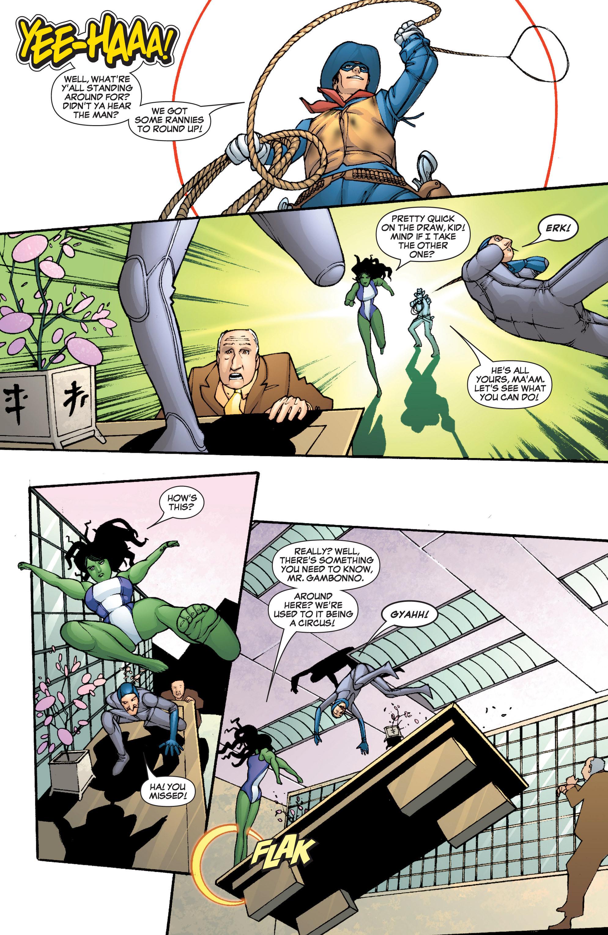 Read online She-Hulk (2005) comic -  Issue #5 - 9