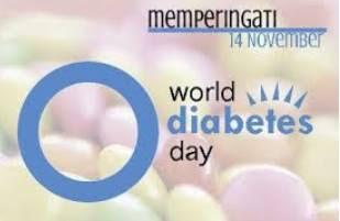 Hari Diabetes Sedunia Sebagai evaluasi hidup sehat