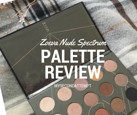 Zoeva Nude Spectrum Palette // Review