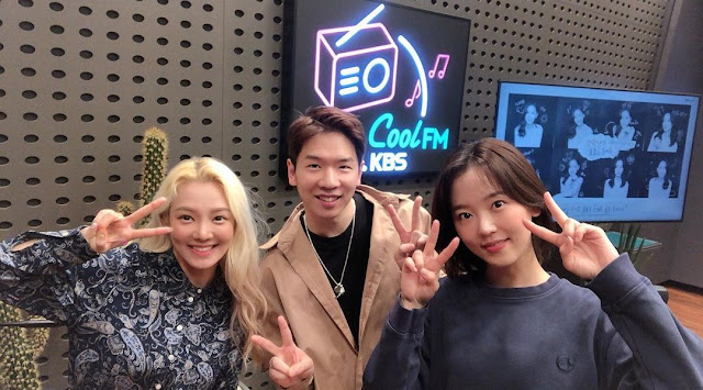 SNSD HyoYeon Kang Hanna Volume Up