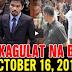 Nakakagulat Na Balita Ngayon October 16, 2017 - Pres. Duterte | Trillanes | Kiko Pangilinan