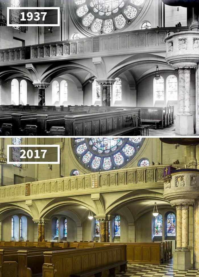 St. Matthew Evangelical Church, Łódź, Poland, 1937 - 2017