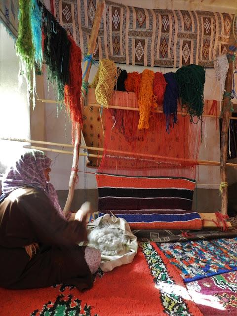 tappeti berberi marocco