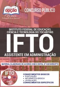 Apostila Concurso IFTO 2018 Assistente em Administração