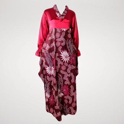 Model Baju Pesta Batik Muslim Remaja Terbaru