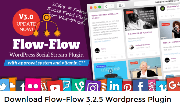 Download Flow-Flow 3.2.5 Wordpress Plugin