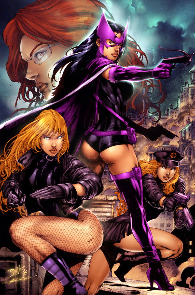Black Canary And Huntress Lesbian Porn
