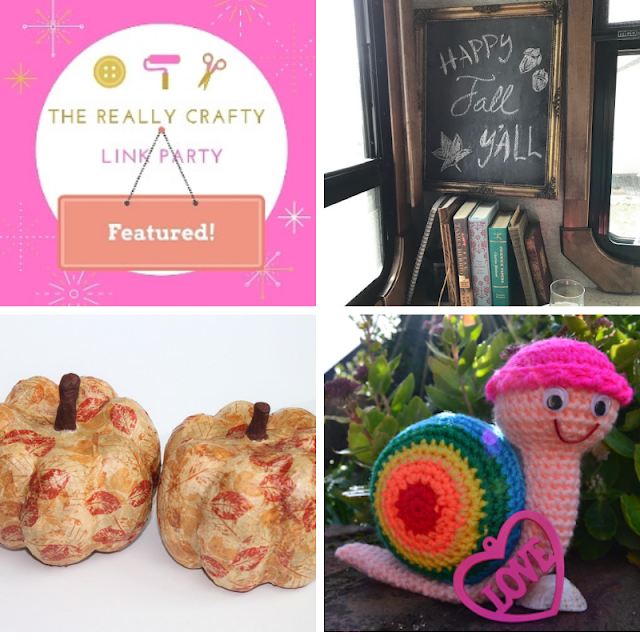 The Really Crafty Link Party #137 featured posts
