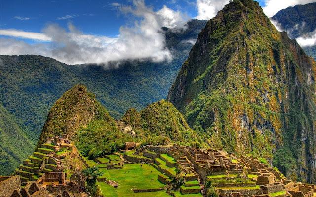 ماتشوبيتشو من مدن حضارات امريكا الجنوبية التابعة للانكا وجزء من عجائب الدنيا السبع العجيبة