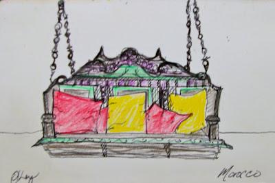 Olivia Jane Ley : Morocco Sketches