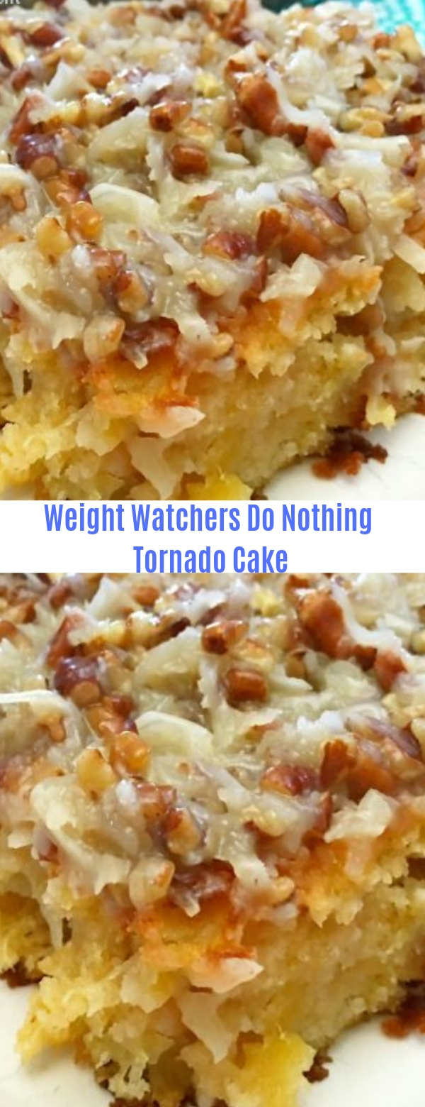 Weight watchers Do Nothing Tornado Cake
