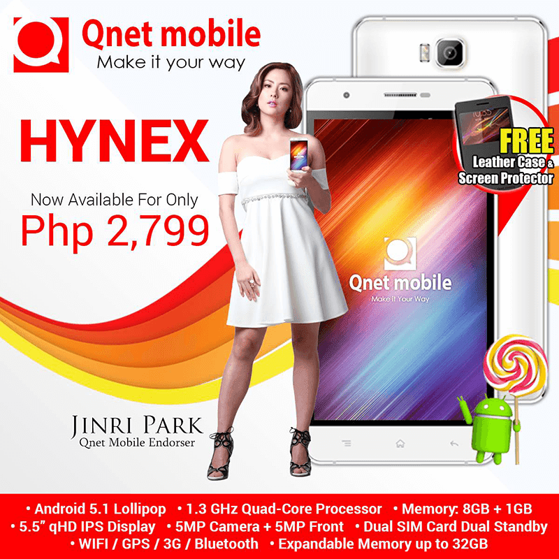 Qnet Mobile Hynex Announced At 2799 Pesos