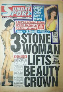 Sunday Sport 23th October 1988