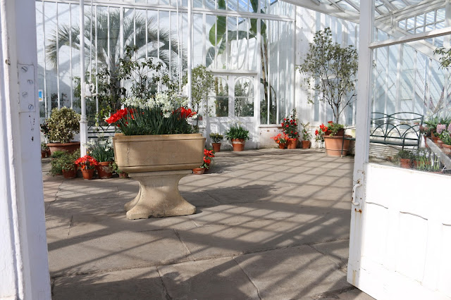 Clumber Park Glasshouse at Easter Spring Walled Kitchen Garden