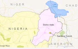 Nigeria's northeastern state of Borno
