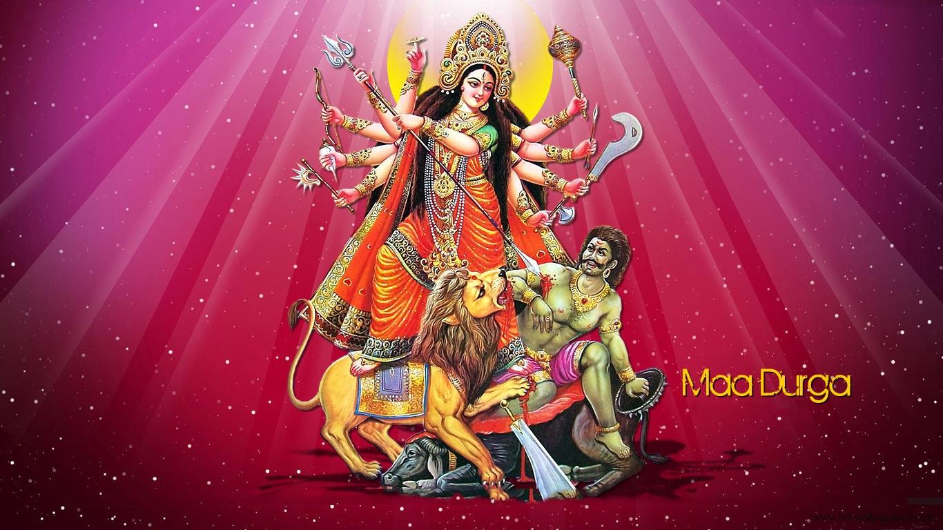 Maa Durga 1080p Wallpaper