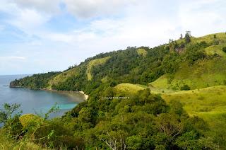 Bentang alama Bukit Pulisan, Likupang Timur, Minahasa Utara, Sulawesi Utara +jelajahsuwanto