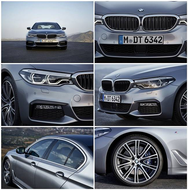 2017 new BMW 5 Series Sedan (G30) Photos, Specs, Press Release