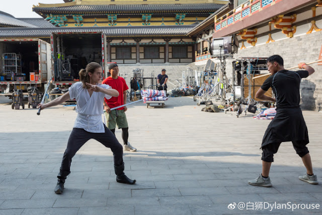 Dylan Sprouse Turandot Filming