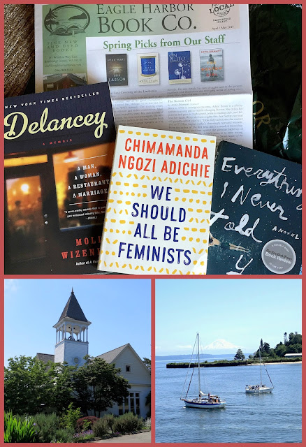 Bainbridge Island and books bought there